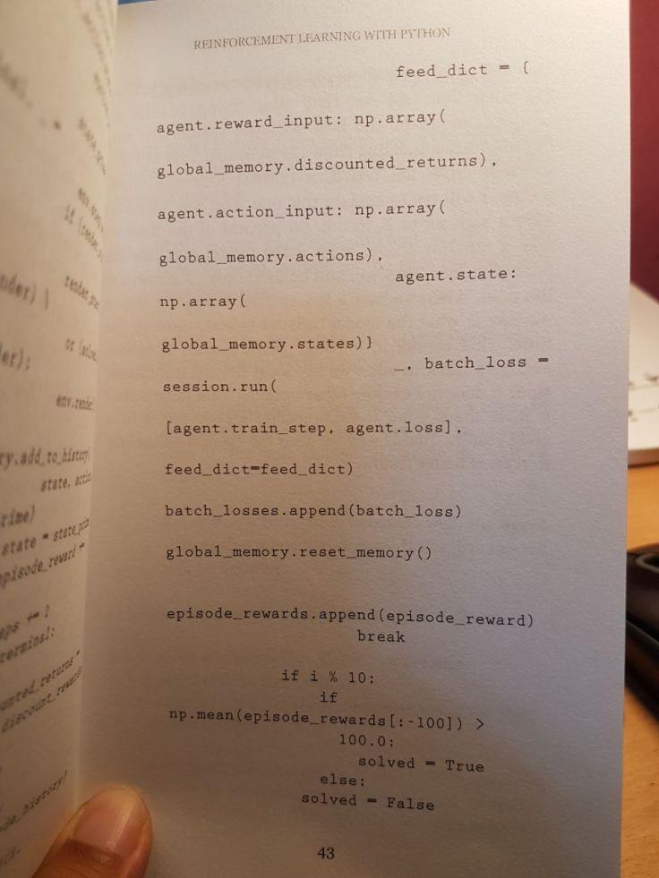 Python-RL-kode