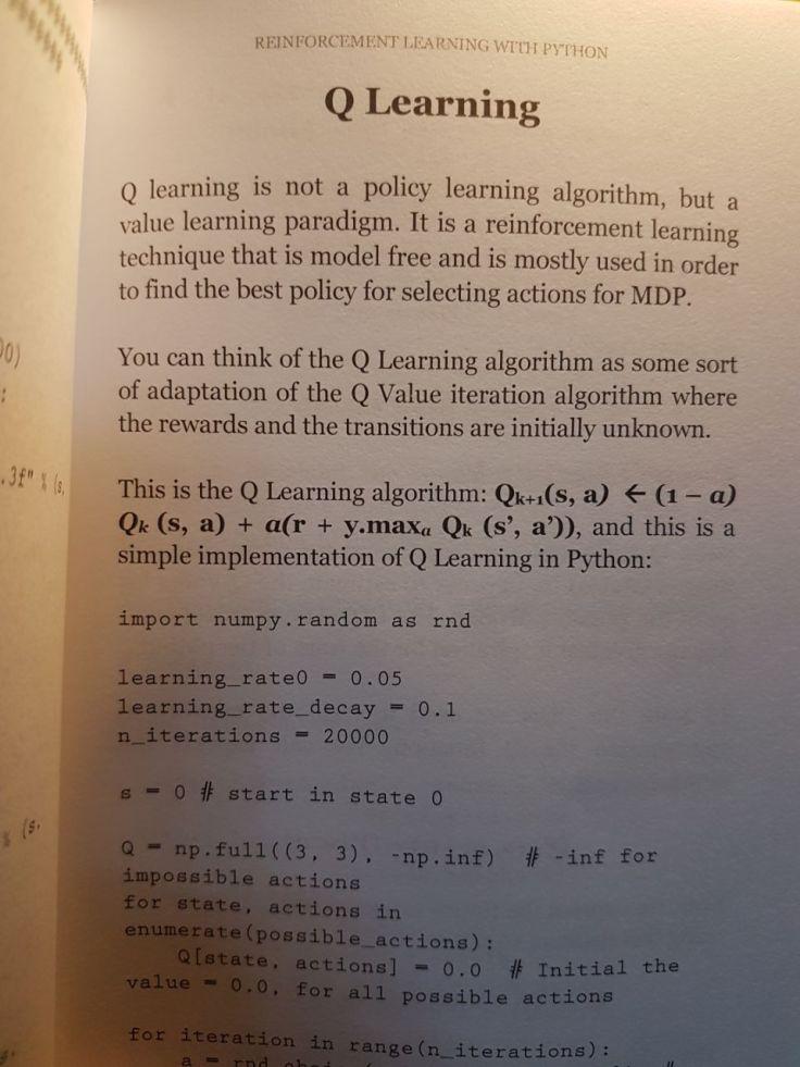 RL-Python-Q-learning